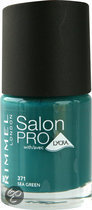 Rimmel Salon Pro With Lycra Nailpolish - 371 Sea Green - Nailpolish