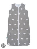 Slaapzak zomer 90cm jersey Little star grey