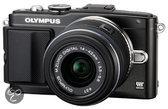 Olympus PEN E-PL5 + 14-42mm - Systeemcamera - Zwart