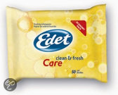 Edet Vochtig Toiletpapier Care - 50 Stuks