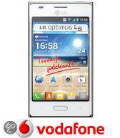 LG Optimus L5 - Wit - Vodafone prepaid telefoon