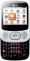 LG In Touch Lady (C320) - Wit/Zwart