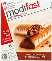 Modifast Control Lunch Melkchocolade - 6 stuks - Maaltijdreep