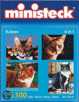 Ministeck Katten '4 In 1'