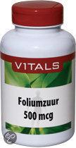 Vitals Foliumzuur 500 mcg - 100 capsules