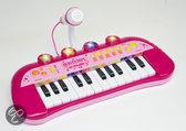 Bontempi Toetsenbord met Microfoon - Roze