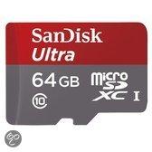 Sandisk Ultra microSD kaart 64 GB
