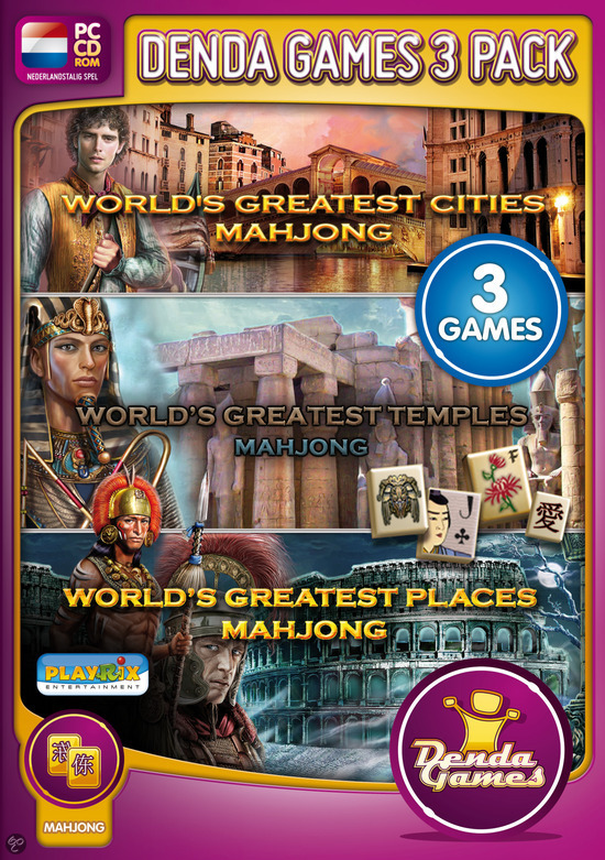 World's Greatest Cities + World's Greatest Places + World's Greatest Temples - Mahjong Bundle Edition