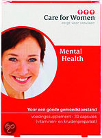 Care for Women Mental Health - 30 Capsules - Voedingssupplement