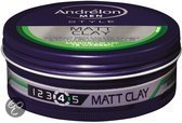 Andrelon For Men Matt Clay - 75 ml - Wax