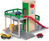 Brio Parkeerplaats met Tankstation