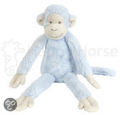 Happy Horse - Aap Mickey No.1 Blauw - Knuffel