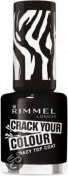 Rimmel Crack Colour Crazy - 10 Black - Topcoat