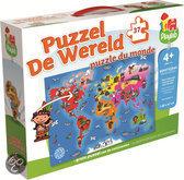 Jumbo Puzzel De Wereld - Puzzel - 30 stukjes
