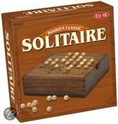 Solitaire In Houten Box