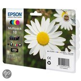 Epson 18 (T1806) - Inktcartridge - Multipack