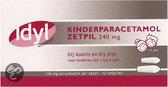 Idyl Paracetamol ZP 240mg AV 10 st