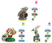 Skylanders Giants Battle Pack Chop Chop, Shroomboom, Dragonfire Kanon Wii + PS3 + Xbox360 + 3DS + Wii U