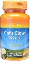 Thompson Voedingssupplementen Cat's claw 500 mg