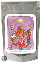 Blond Amsterdam Tea card 'hoera' paars (groene thee citroen)