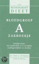 Bloedgroep A zakboekje - ISBN:9789032508852