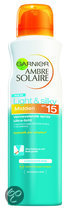 Garnier Ambre Solaire Light & Silky Spray SPF 15 - Zonnebrandspray