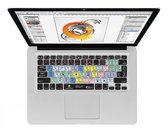 Illustrator CS6 QWERTY Keyboard Cover voor MacBook, Air & Pro