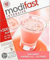 Modifast Aardbei - 9 stuks - Milkshake