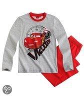 Disney Cars Jongenspyjama - Grijs Melee / Rood - Maat 110