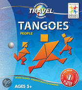 Smart Games Magnetic Travel Tangram Mensen - Reiseditie