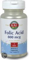 Bloem Foliumzuur 800 mcg & B12