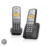 Gigaset A230 - Duo DECT telefoon - Zwart