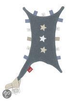 ISI Mini - Tutteldoekje met labels en sterren - Grijs