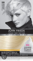 John Frieda Precision Foam Colour 10B Light Beige Blonde - Haarkleuring