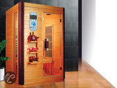 Luxe infraroodsauna 2 125 x 105 x 190 cm