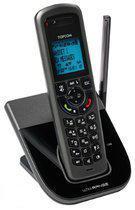 Topcom Ultra SR1200C - Single DECT telefoon met repeater - Zwart