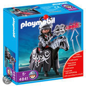 Playmobil Zwarte Drakenridder met Led Verlichte Lans - 4841