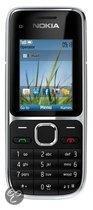 Nokia C2-01 - Zwart - T-Mobile prepaid telefoon