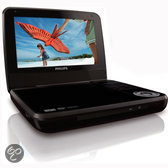 Philips PD7001B/12 - Portable DVD Speler - Zwart