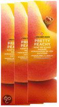 Dr van der Hoog Pretty Peachy - Gezichtsmasker - 3 stuks - Voordeelverpakking