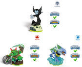 Skylanders Spyro's Adventure Triple Pack Hex, Zap, Dinorang Wii + PS3 + Xbox360 + 3DS + Wii U + PS4