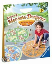 Outdoor Mandala-Designer Animal Fun - Stoepkrijt