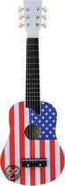 Gitaar - Vlag USA