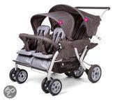 Childwheels - Kinderwagen Quadruple - Zwart