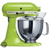 KitchenAid Artisan Keukenmachine 5KSM150PSEGA - Groen