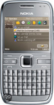 Nokia E72 (navigatiepakket) - Metal Grey