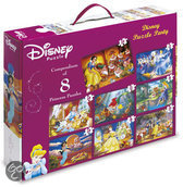 King Disney Princess Puzzel 8 In 1