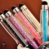 Luxe styluspen met diamant, zilver