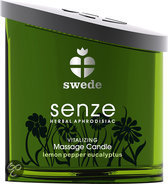 Swede - Senze Massagekaars Vitalizing - Glijmiddel