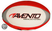Avento American Football - Soft Touch - Rood/Wit/Zwart